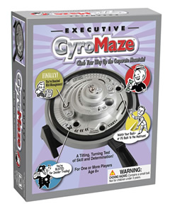 Executive GyroMaze Game