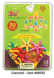 Jawbones Clam Shell 50 pc