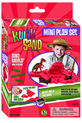 KwikSand Mini Play Set - Dino World