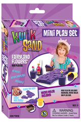 KwikSand Mini Play Set - Fairyland Flowers