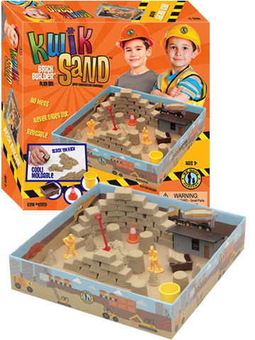KwikSand Play Set - BrickBuilder