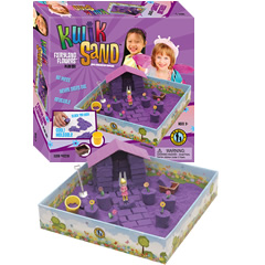 KwikSand Play Set - Fairyland Flowers