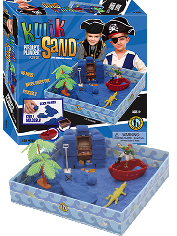 KwikSand Play Set - Pirate's Plunder