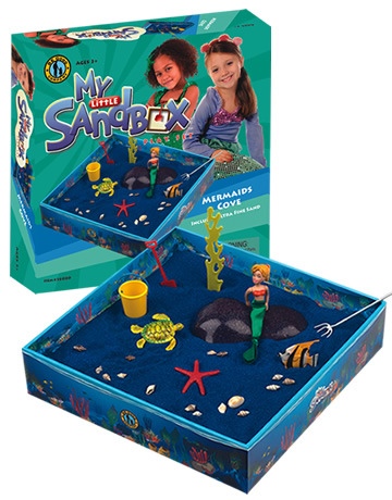 My Little Sandbox Play Tray - Mermaids Cove