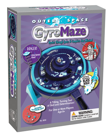 Outer Space GyroMaze Game