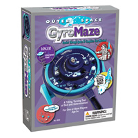 Outer Space Gyro Maze Game
